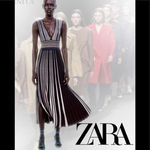 Zara Elegant Maxi Dress